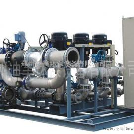 河南板式换热机组,全自动无人值守热交换机组
