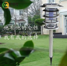 不锈钢草坪灯太阳能超亮LED路灯室外庭院灯户外照明防水灯