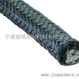 碳化纤维盘根|骏驰出品浸石墨乳碳化纤维盘根