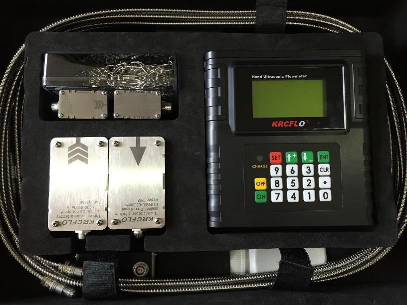 巡检手持式超声波液体流量计,校对便携式流量计