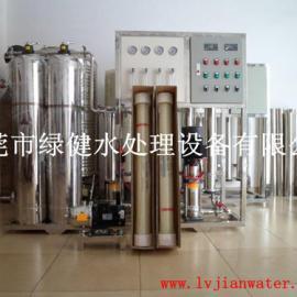 自来水过滤纯净水设备 反渗透净水装置 不锈钢RO纯水设备