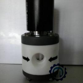 微型聚四氟塑料电磁阀