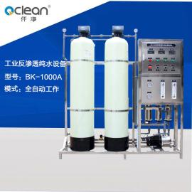 BK-1000A 一级RO工业纯水水处理反渗透设备生产厂家