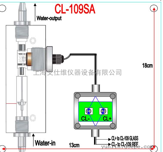 HOTEC合泰余氯在线分析仪CL109/CL109SA