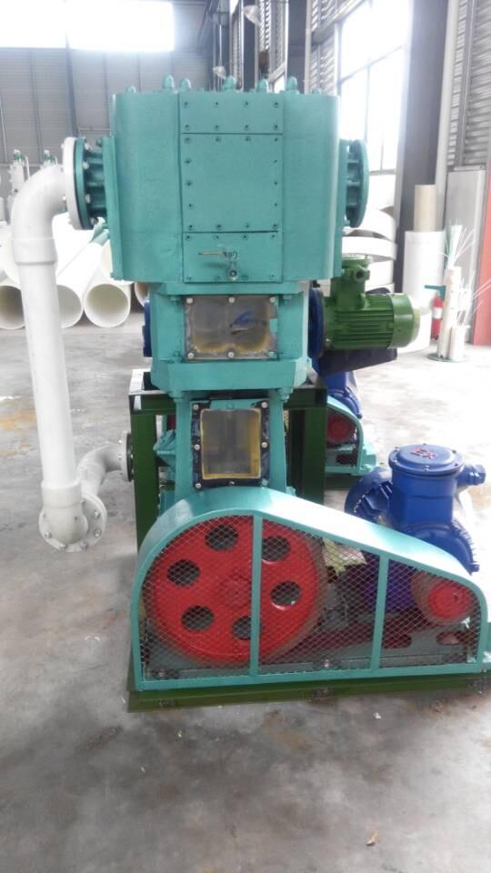 一力牌罗茨无油立式真空泵机组