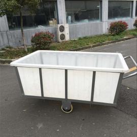 南昌加厚型带推车方箱水产方箱鱼菜共生桶50L-1800L规格齐全