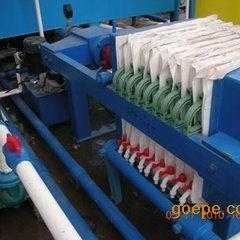 机械压紧板框压滤机 污泥压滤机 自动拉板厢式压滤机