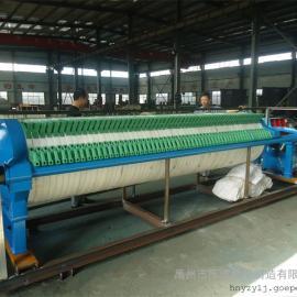 造纸污泥处理设备圆形压滤机 高压压滤机选明华牌压滤机