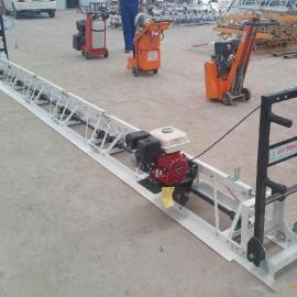 专业生产水泥路面铺平机修路震平机 自由组合式电动振动梁