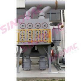 塑料颗粒加工车间中央集尘系统SINOVAC粉尘治理设备