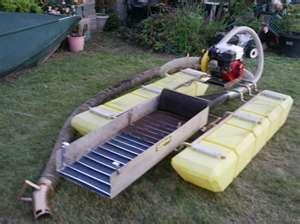 小型淘金船,小型淘金机