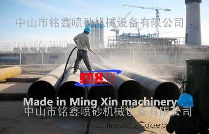 中石化风扇石油除锈喷砂机12v图纸管道图片