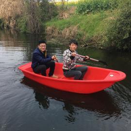 南通2.5米塑料渔船2.5米带活鱼苍打鱼船2.5米河道清理船