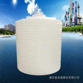 防腐储罐 医用双氧水储罐 漂白水储罐 立式pe稀释贮罐