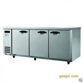 Sanyo/三洋平面操作台冰箱 直冷卧式工作台