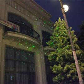 防水草坪灯 户外 雪花 雪人 圣诞灯 激光