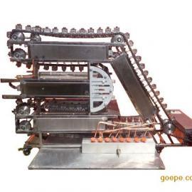 链条无烟烤串机|传送式烤肉串机器|韩国链条式烧烤炉