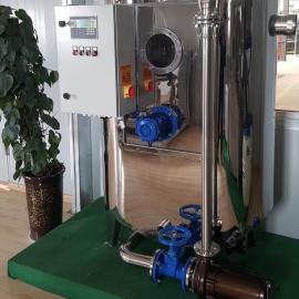 硬派整体排放型隔油设备|餐饮隔油提升一体设备