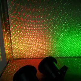 遥控户外防水灯 多图案草坪激光灯 园林圣诞树灯 庭院灯