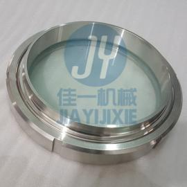 DN200卫生级活接视镜 219焊接活接视镜 罐用螺纹视镜