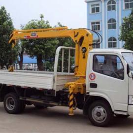 东风多利卡3300随车起重运输车价格,2吨随车吊报价
