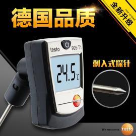 德国德图TESTO905T1高精度温度计液体温度计袖珍探针