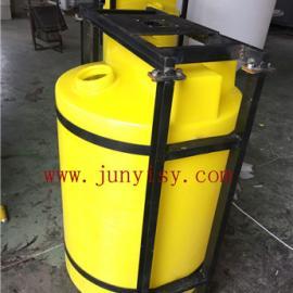 500升立式加药箱配 水处理混合设备搅拌桶搅拌机
