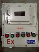 BXK风机防爆按钮控制箱厂家 防爆就地按钮启动箱 粉尘