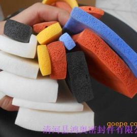 硅橡胶高温20*8自粘胶带密封胶条