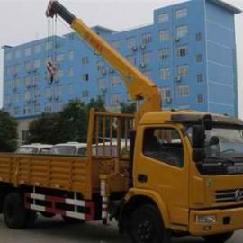 东风多利卡L3800随车起重运输车价格,4吨随车吊报价