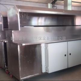 无烟烧烤炉生产厂家|环保无烟烧烤车供货商