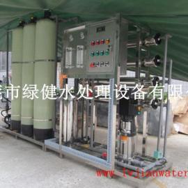 【反渗透设备厂家绿健供应】一级反渗透纯水装置 全自动控制