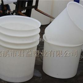 君益塑业公司2000升PE圆桶