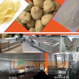 诸城希源***新薯片全自动操作生产设备 XY不锈钢加工薯片生产线