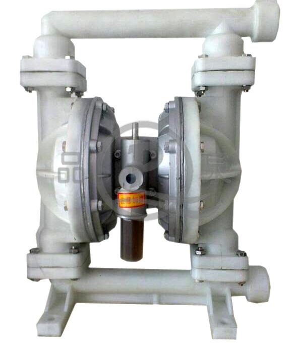 厂家供应QBY-40气动隔膜泵 二氟气动双隔膜泵 PVDF气动隔