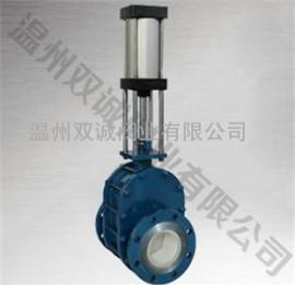 双诚陶瓷厂家供应Z644TC-10C气动陶瓷出料阀