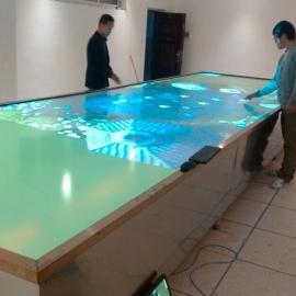 PELL多人多点互动触摸桌|鹏尔多人互动拼接桌|上海拼接屏