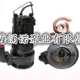 WQK/QG型带刀切割式装置潜水排污泵/带刀撕裂式潜水排污