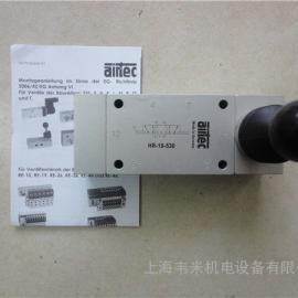 AIRTEC三位五通手动阀HR-18-530