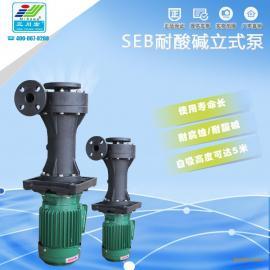 上海喷淋塔循环水泵,氟塑料立式泵,杜绝腐蚀厂家直销