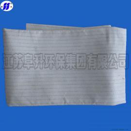 海南省防静电防尘布袋琼海市玻璃熔炼炉用玻纤除尘滤袋高温收尘