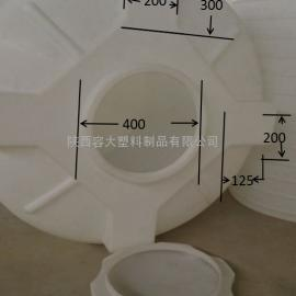2方反应罐2000L运输罐陕西塑料大桶厂家