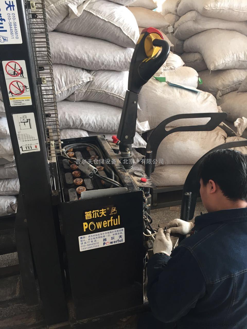 北京电动叉车维修 西林电动堆高车 合力叉车 专业维修团队 地牛