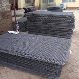 重型黑钢丝筛网厂家+太原、亳州锰钢筛网 包边裹边轧花网价格