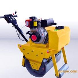 优质小型压路机直销手扶式单轮重型柴油压路机YJ730B