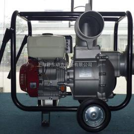 6英寸大流量本田汽油水泵6寸防汛本田汽油抽水机