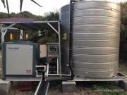 休闲会所安装空气能热水器