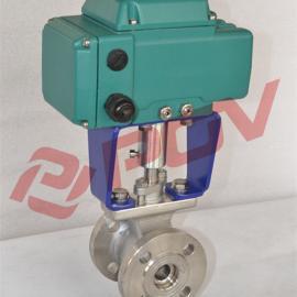 POV Q943H电动固定式硬密封球阀 耐高温高压