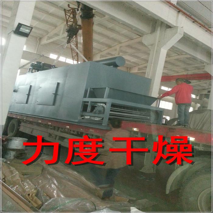 棕榈纤维专用带式干燥机,DW系列链条式网带干燥机
