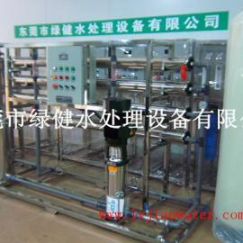 电镀厂用RO反渗透水处理纯水设备 2吨/小时工业纯水机